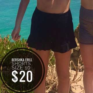 Bershka frill Shorts