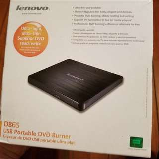 Lenovo DB65 USB Portable Disk Burner