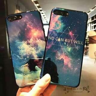 藍光星空手機殼 iPhone6s/7plus/x