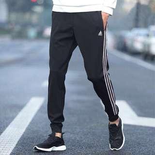 保證正品✨ adidas 愛迪達 三條線 長 棉褲 薄款 男褲 Essential 3S T Tricot BK7396