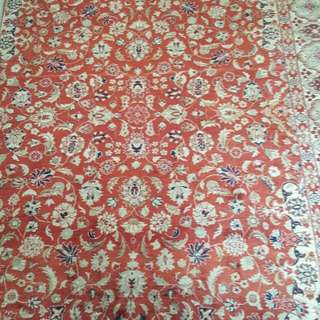 PERSIAN SILK CRPET. INHEITED