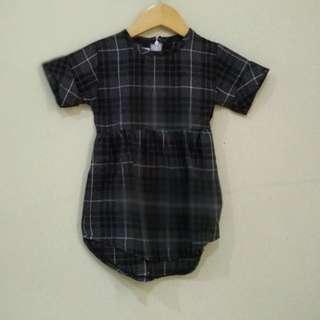 Dress Hitam New 2-4T