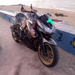 2012: Kawasaki Z1000 JT, Condition Still Good, w Akrapovic slip on exhaust, Geran Copy, Loan Kedai. CASH ONLY: RM 22,000