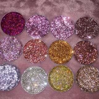 Lana Beauty pressed Glitters
