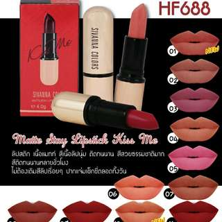 Matte stay kiss me lippies