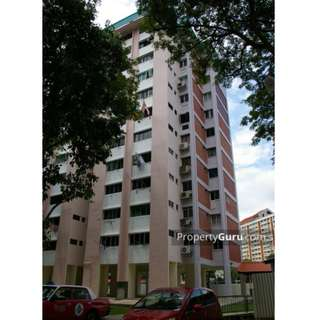 Whole 4-room unit for rent at HDB Blk 5, St George's Lane 4th floor corner. Avall. from 1 March 2018