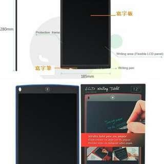 12 吋 LCD writing tablet 電子手寫板 (12inch)