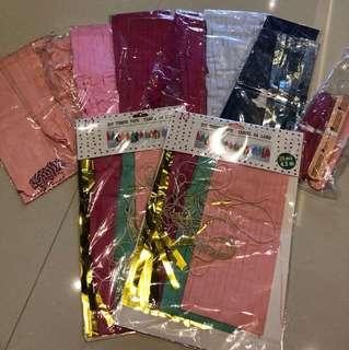 Paper Tissue Tassels
