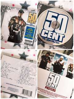 Free Shipping ✅50 Cent Music CD Song