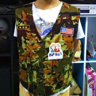 Camo vest for kids