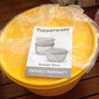 tupperware modular bowl
