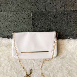 Bershka chain sling bag