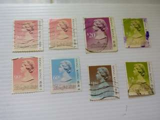 Hong Kong British Colonial QEII Used #M28