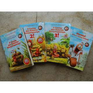 Buku Si Cacing dan Kotoran Kesayangannya The Series