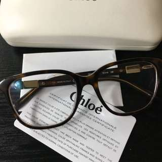 Chloé CE2627 Tortoise cat-eye and retro wingtip glasses