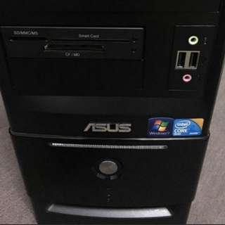 #LOL遊戲主機# 正版Win7 華碩 四核心 遊戲電腦 桌上型電腦 ASUS PC