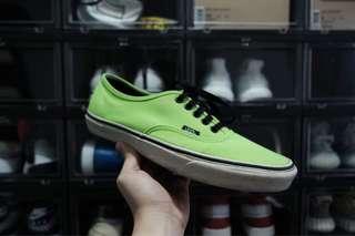 Vans Neon Green