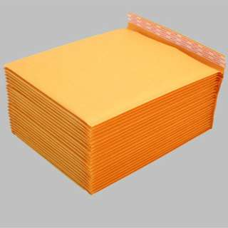 Orange Kraft Paper Padded Envelope | 11cm*13cm | Self-adhesive