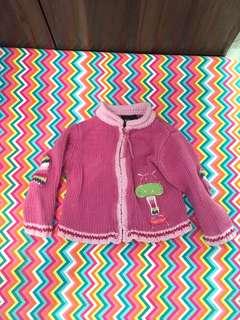 Charity Sale! Gagou Tagou Size 12 girls Cute pink girls Sweater
