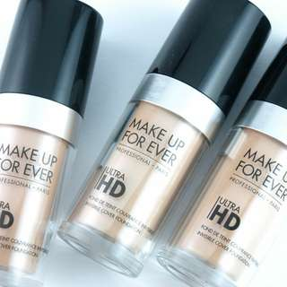 Makeup Forever Ultra HD Foundation 30ml pump bottle (Shade: Y235)