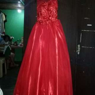 Gown for sale orig price 2000