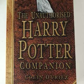 The Unauthorised Harry Potter Companion
