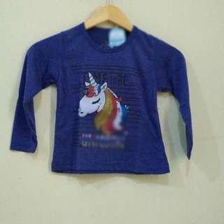 Kaos Panjang Little Poni 3T
