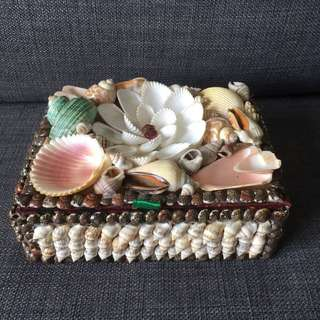 Seashells Jewellery Box