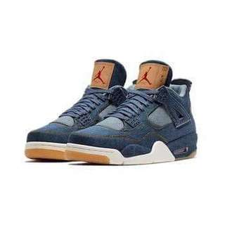 Jordan 4 Levis