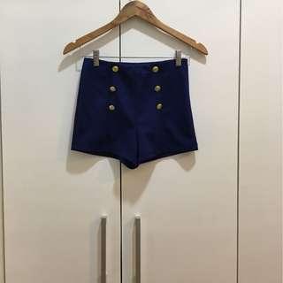 Forever 21 navy shorts