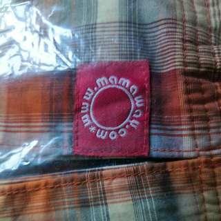 <二手used>mamaway 高CP值哺乳、揹巾(附紙袋)