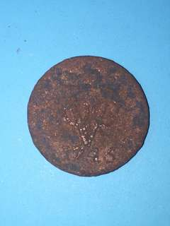 Netherlands East Indies voc copper coin 1 duit Year 1745 sale 30%