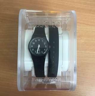 Swatch 黑色女裝手錶