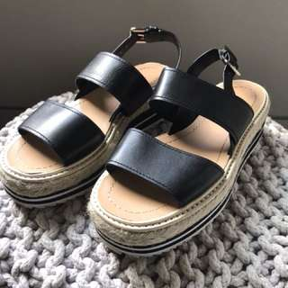 Brand New Tony Bianco 'Indie' Black Sandals