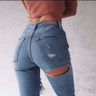 GRLFRND A LITTLE MORE JEANS