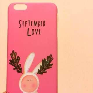 iPhone 6p/6s plus 粉紅機殼 phone case