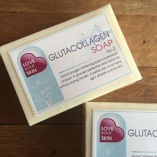 Gluta Collagen Soap