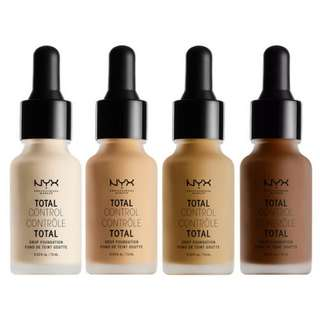 NYX Total Control Drop Foundation 13ml (Shade: True Beige)