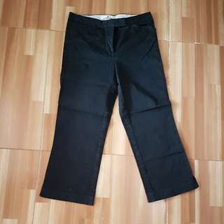 Reprice!!! BLACK 3/4 Trouser Tommy Hilfiger