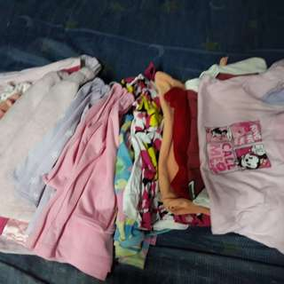 sale branded assorted clothes...take all...20plus pieces...in excellent used condition...6 to 18months