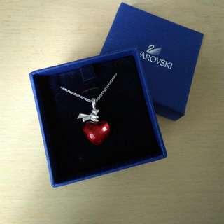 Swarovski 心形水晶頸鍊