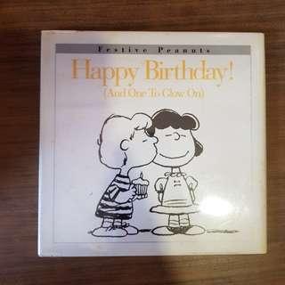 Peanuts. Happy Birthday.