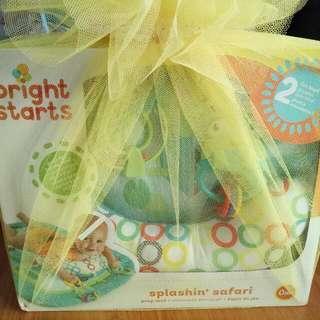 Brand New! Bright Starts Splashin Safari Prop Mat