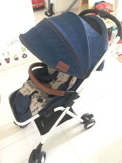 Used I believe baby pram