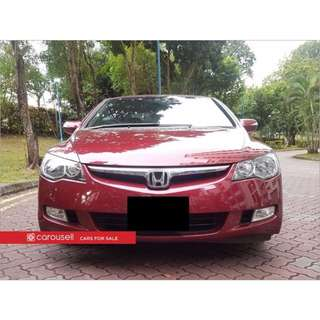 Honda Civic 1.8A VTi-S (COE till 06/2026)