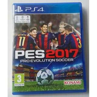 Kaset BD PS4 Original Game Pes 2017 Pes 17