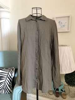 FLASH SALE/olive shirt
