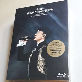 Hacken Lee 30th Anniversary Concert (2 Karaoke Blu-ray + 3CD)