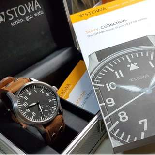 Stowa Flieger Klassik 6498 small second handwinding