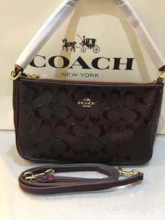 Original coach women sling bag clutch wristlets